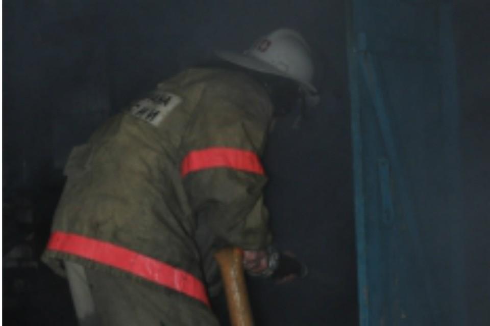 В Ростове человек пострадал при пожаре в пятиэтажке