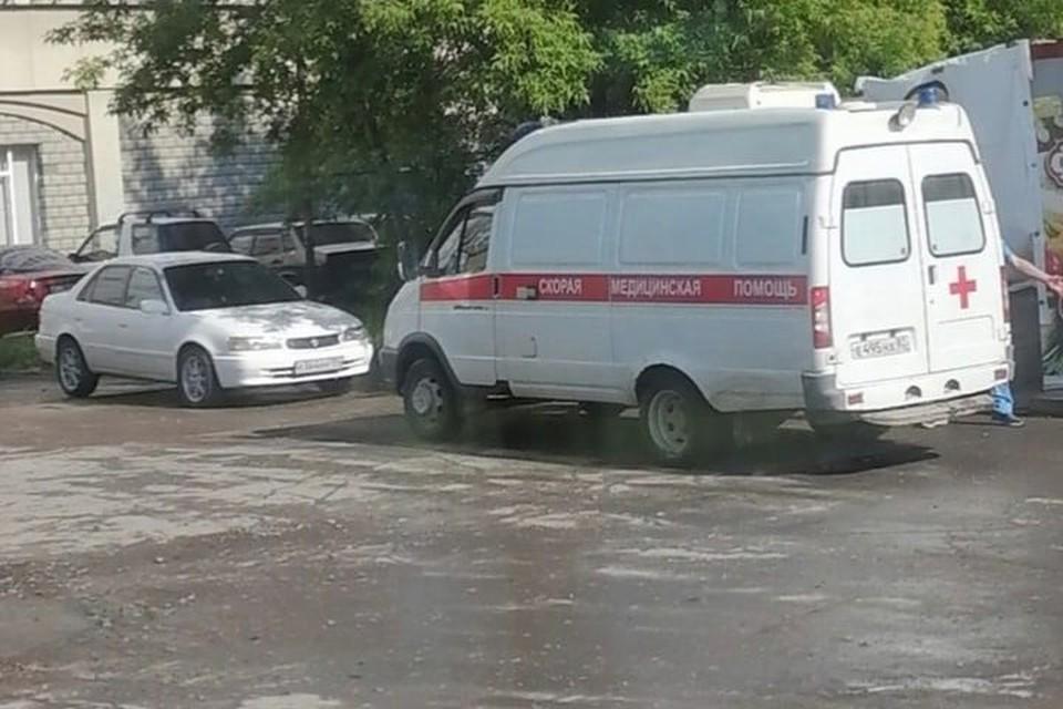 ЧП произошло на улице Ударной.
