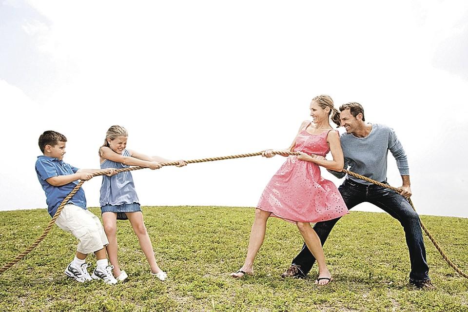 - Товарищи родители, хотите, не хотите ли, но отпуск разделите с нами вы!