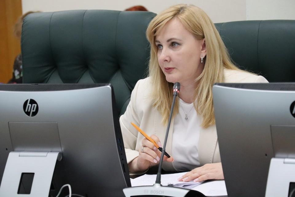 Замминистра образования Оксана Паномаренко