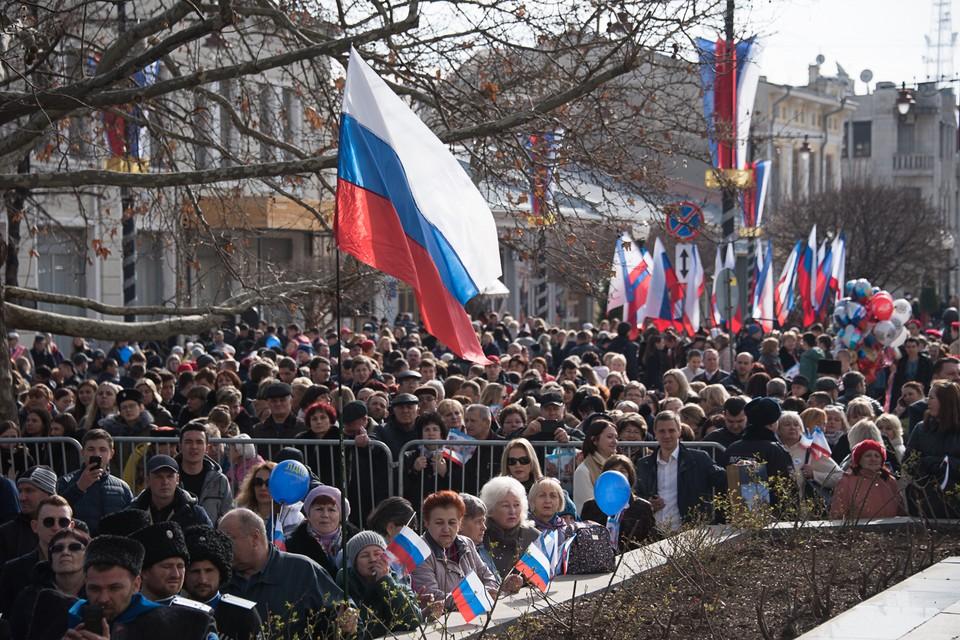 Крымчане свой выбор сделали в 2014 году