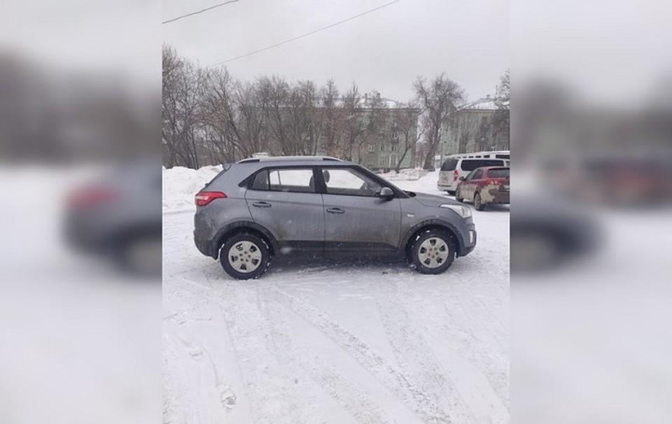 Угнанный автомобиль полицейские обнаружили в Перми. Фото: ГУ МВД по Пермскому краю.