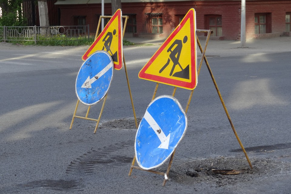 В Ноябрьске до конца лета закрыли дорогу в аэропорт