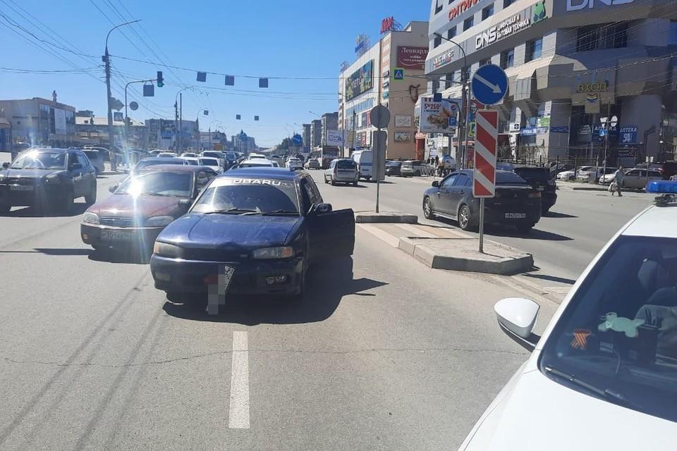 В Новосибирске водитель без прав сбил ребенка пешеходном переходе. Фото: Госавтоинспекция по Новосибирску