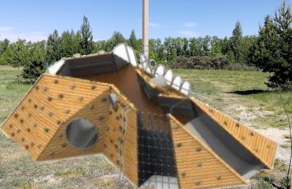 У пруда Северного в Тюмени может появиться игровой комплекс.