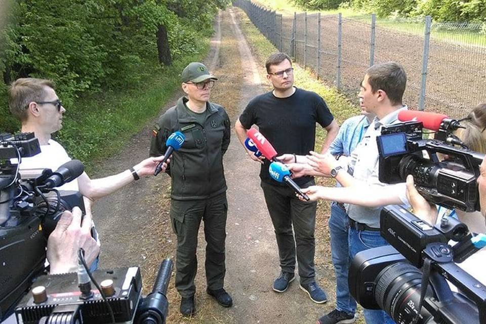 Литовские пограничники: ситуация на границе с Беларусью изменяется не по дням, а по часам