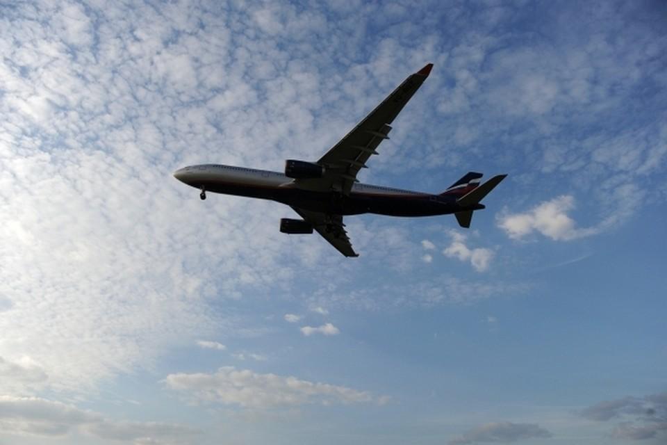 Воздушное судно летело по маршруту Южно-Сахалинск - Циндао