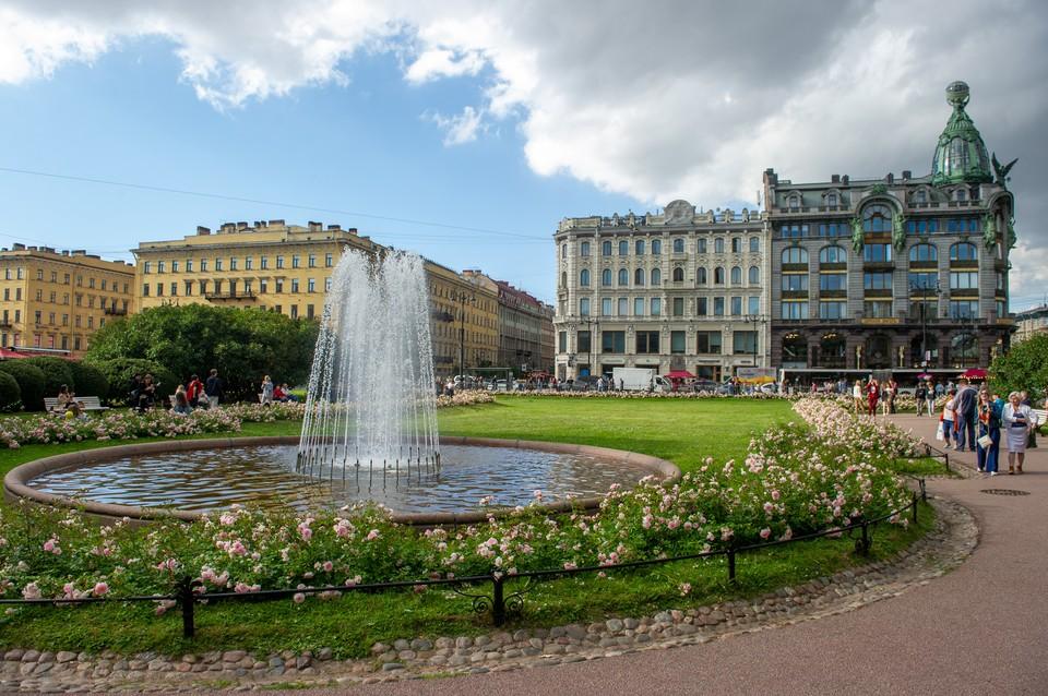 Из 110 городских фонтанов сегодня работают только 68.