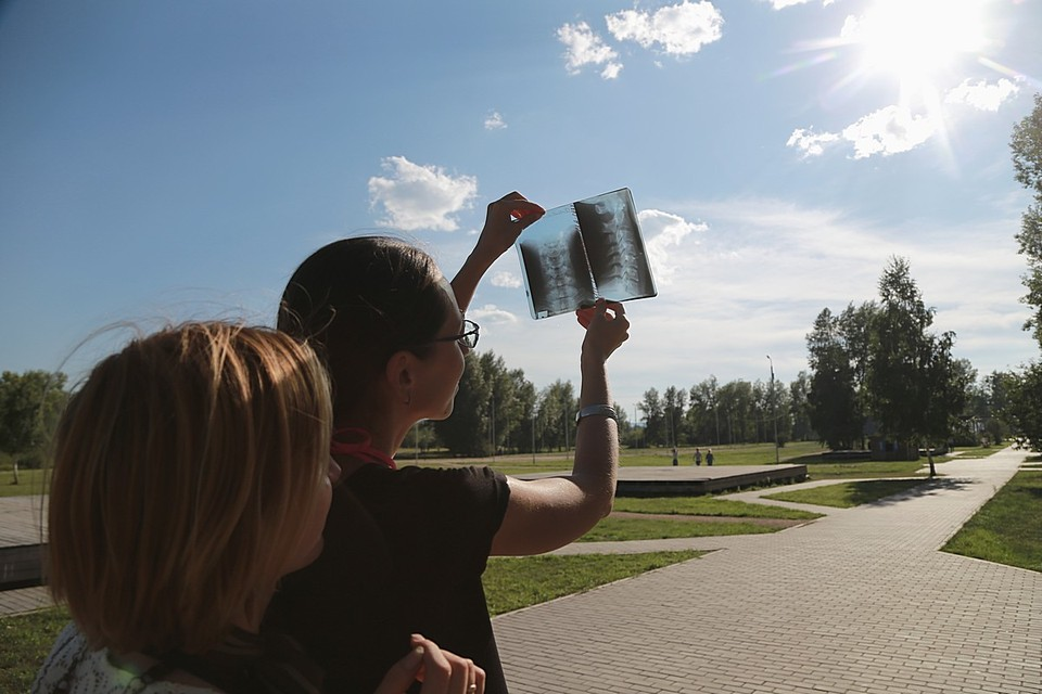 В Красноярске ожидается сильнейшее солнечное затмение за несколько десятков лет