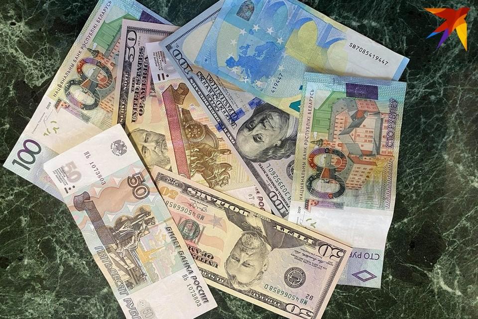 Курсы валют в Беларуси на 8 июня