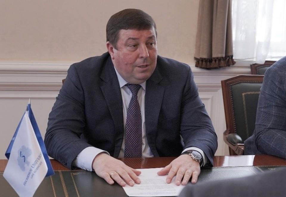 Петр Глыбочко. Фото пресс-службы Университета им. Сеченова
