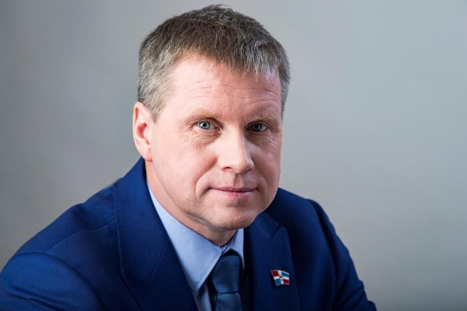 Депутат Сергей Попов.