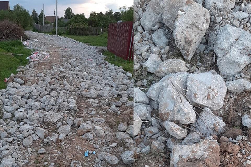 Состояние дороги проверит администрация Фото: vk.com/news69