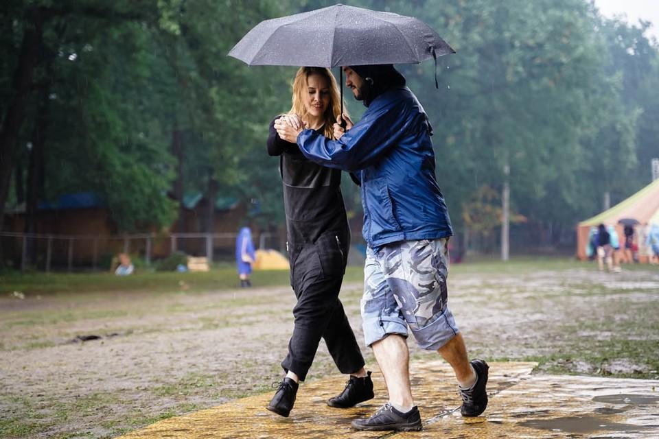 Дожди будут идти до конца рабочей недели