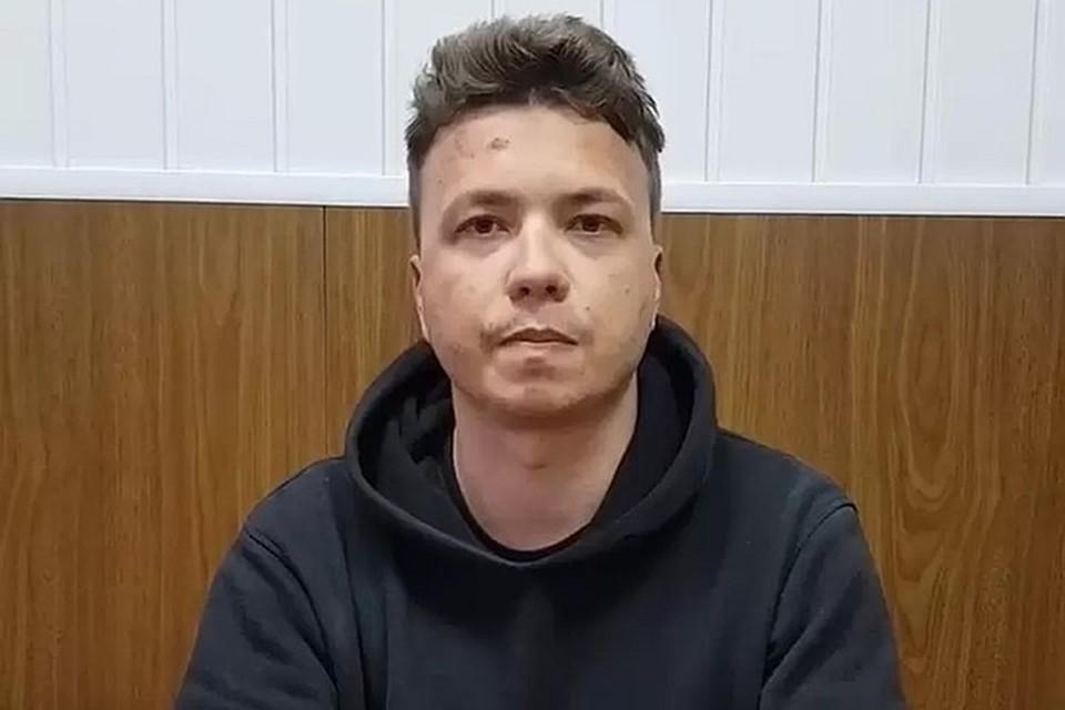 ЛНР контактирует с Беларусью по делу в отношении задержанного Романа Протасевича. Фото: скриншот с видео МВД