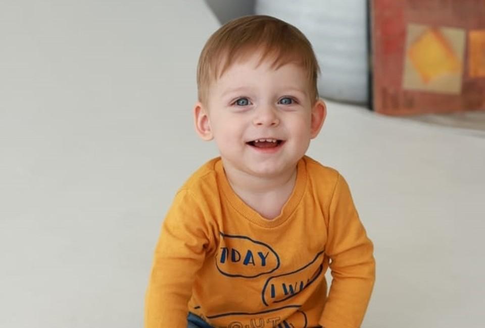 Михаил из Азова. Фото: личный архив мамы ребенка