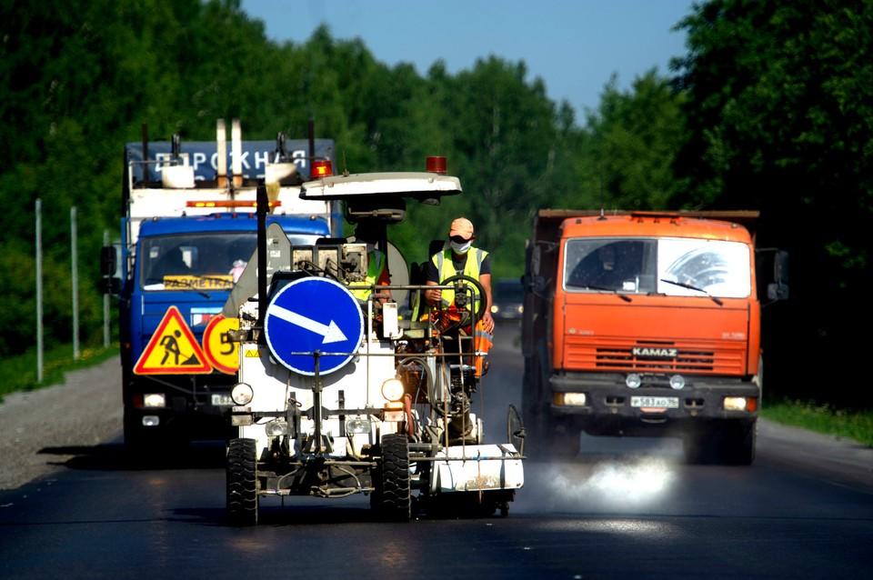 В Томской области полным ходом идет ремонт трасс