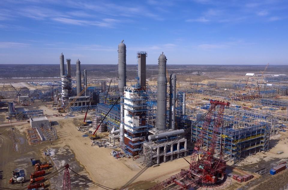 На Амурском ГПЗ стартовало производство Фото: ООО «Газпром переработка Благовещенск»