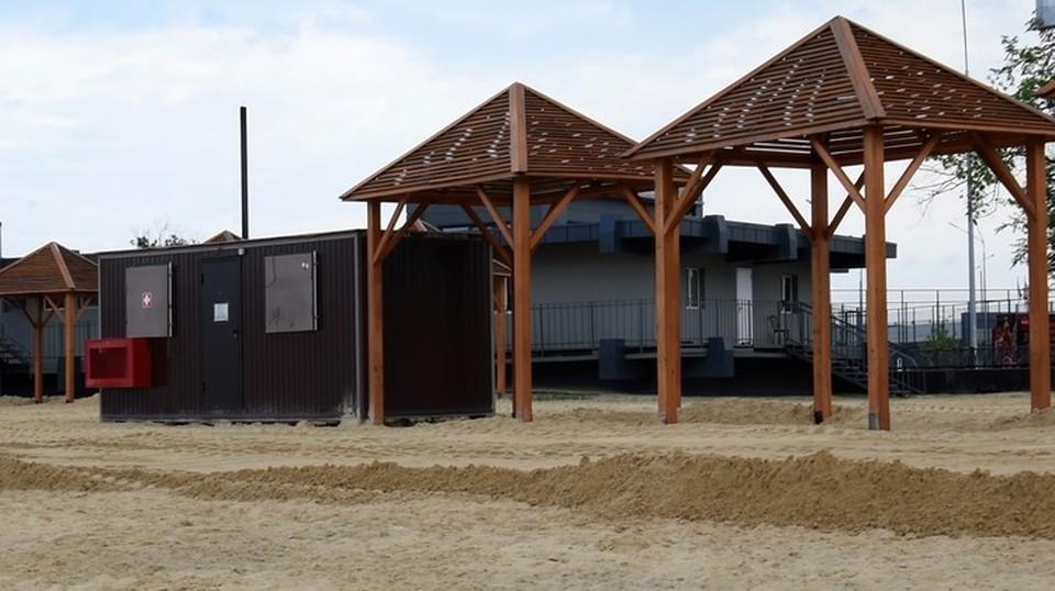 Сейчас в Ростове официально открыты четыре пляжа - три муниципальных и один частный. Фото: СЕЛИМОВ Артур.