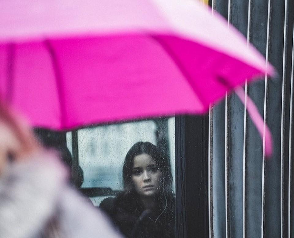 Дождь не повод для печали.