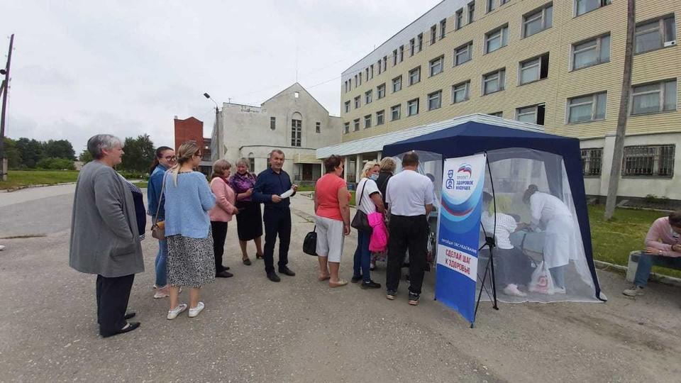 Жители Белевского района стали участниками проекта «Шаг к здоровью»