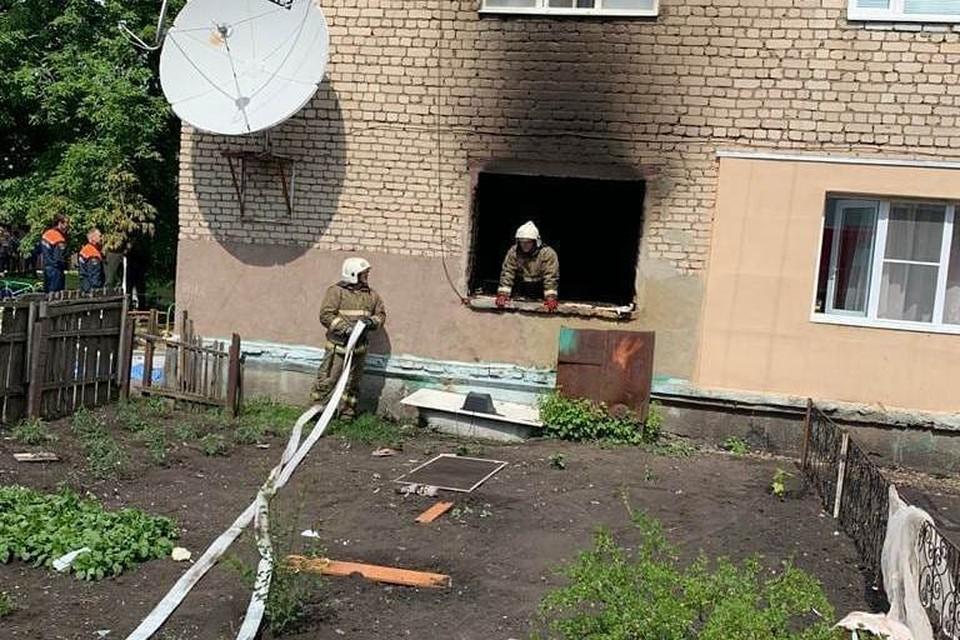 В квартире на первом этаже произошел взрыв. Фото областной прокуратуры