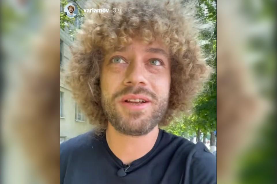 Блогер Варламов снова в Кишиневе.