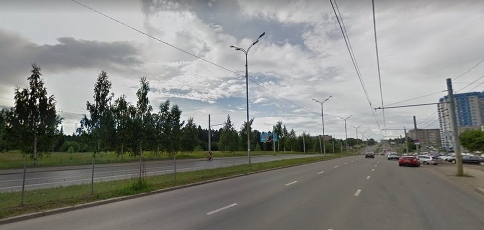 Жителей Удмуртии интересовало, что начали строить на улице Ильфата Закирова Фото: Google Maps