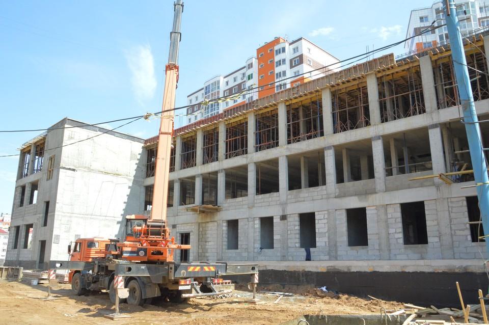 В Твери продолжается строительство трех детских садов Фото: администрация Твери