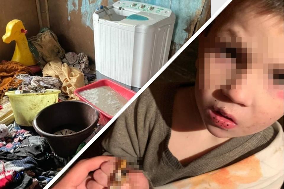 Дети жили в ужасных условиях. Фото: предоставлено Татьяной Осадчей.
