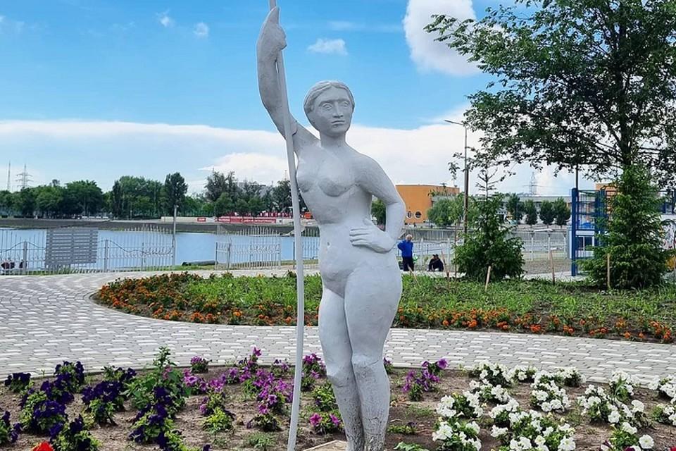Вид скульптуры вызвал недоумение у ростовчан Фото: соцсети