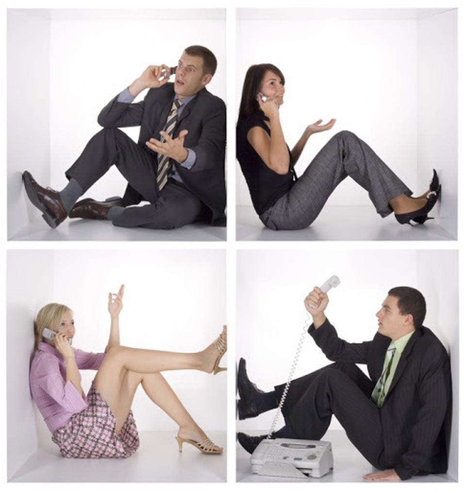 Наши люди стали больше общаться по мобильной связи (Фото: knigge.ru).