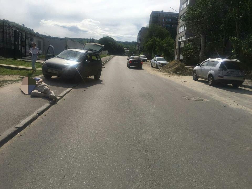 «Калина» сбила пешехода