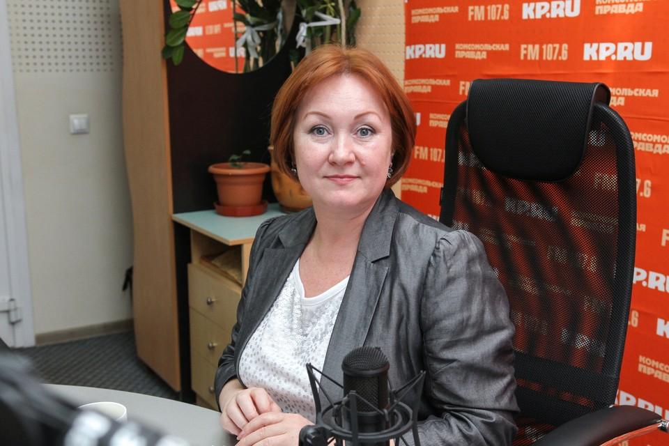 Руководитель «Центра активных коммуникаций» Евгения Сундукова