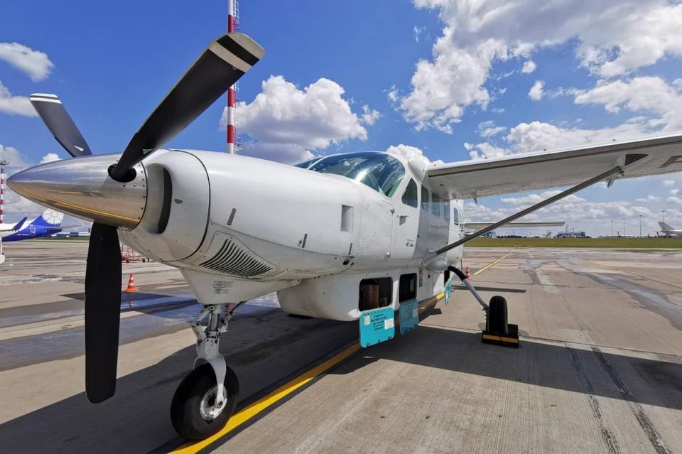 «Крылатая маршрутка» впервые совершила рейс «Калининград - Минск». Фото: t.me/MinskNationalAirport