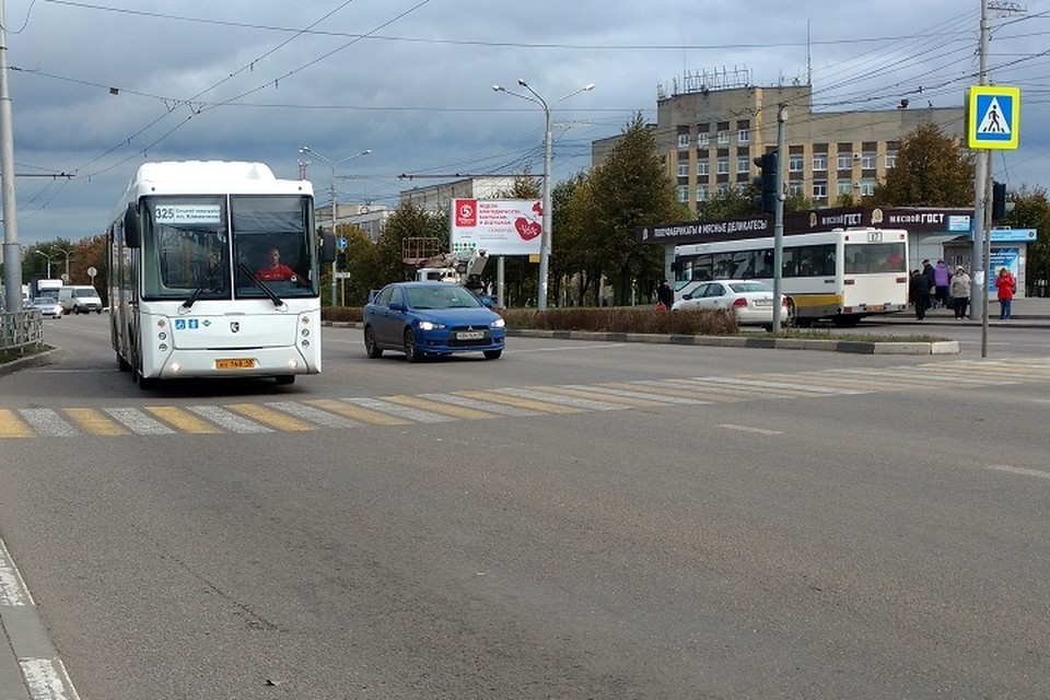 Схему движения изменят 7 автобусов.