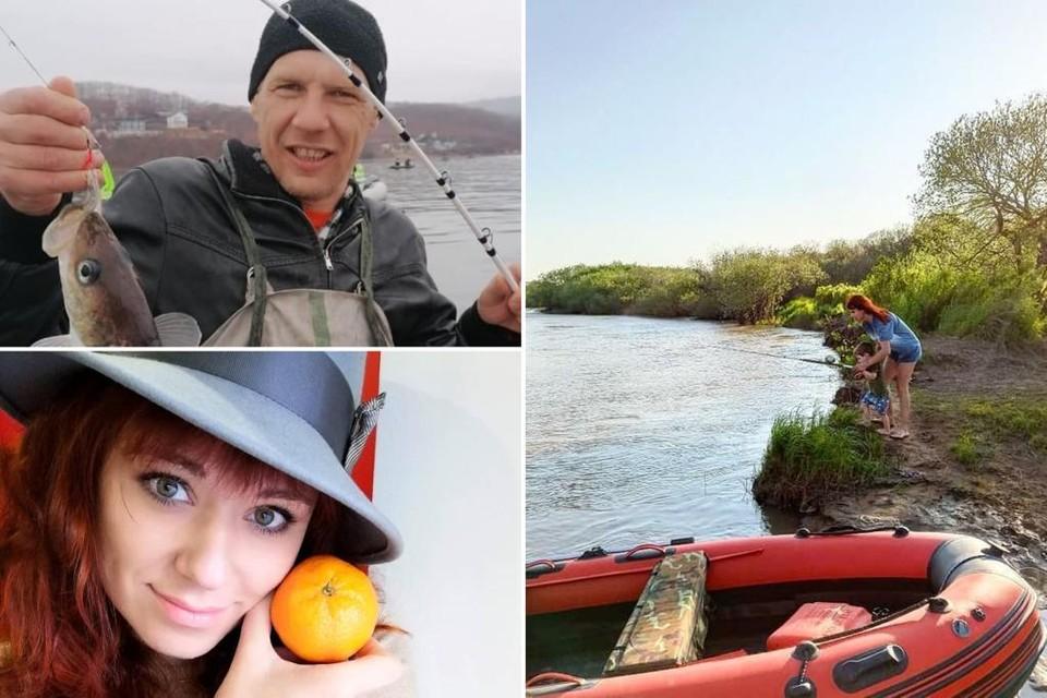 Андрей и Кристина любят активный отдых и рыбалку. Фото: из личного архива