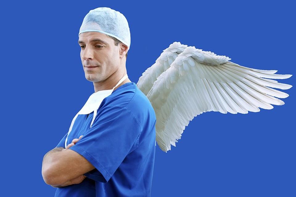 Люди справедливо часто сравнивают медиков с ангелами-спасителями. Фото pixabay.com