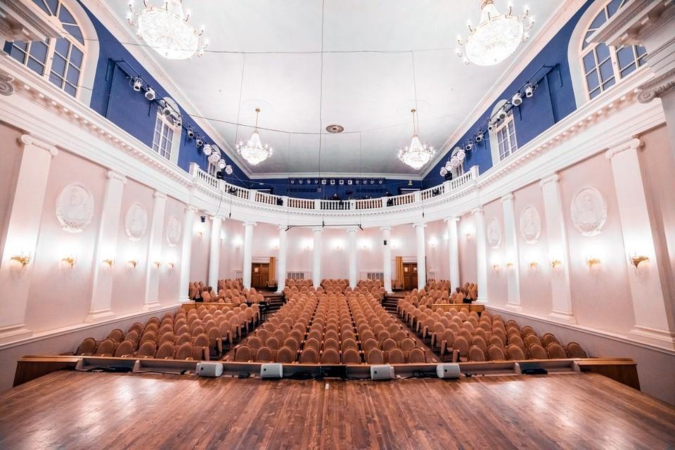 Этот зал поглотит джаз. Фото: Тверская филармония