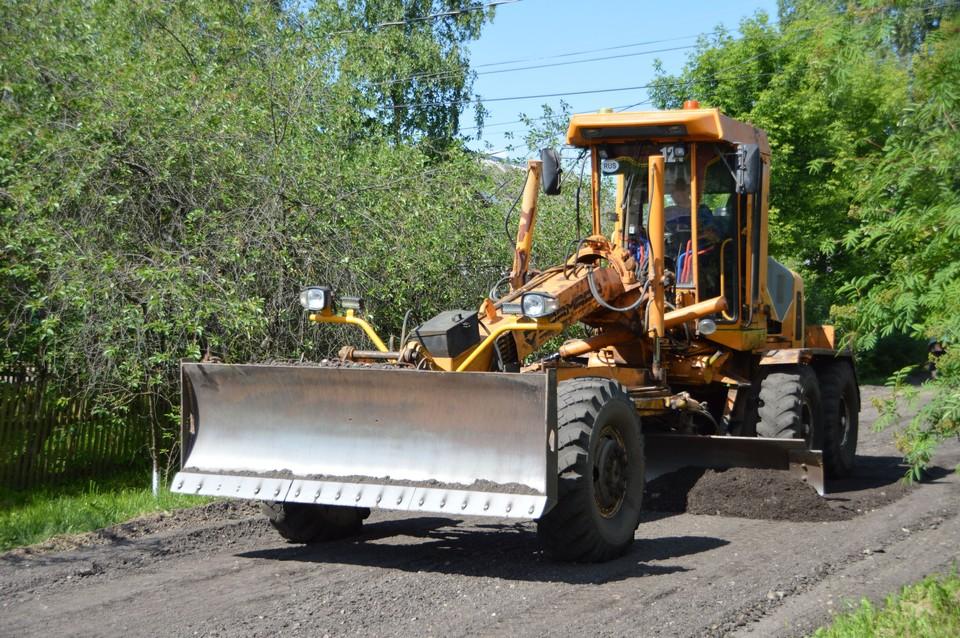 В Твери выравнивают и укрепляют грунтовые дороги Фото: администрация Твери