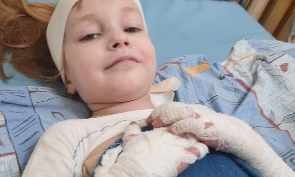 В Москве прооперировали ребенка-бабочку из Ишима. Фото - Надежда Булатова.