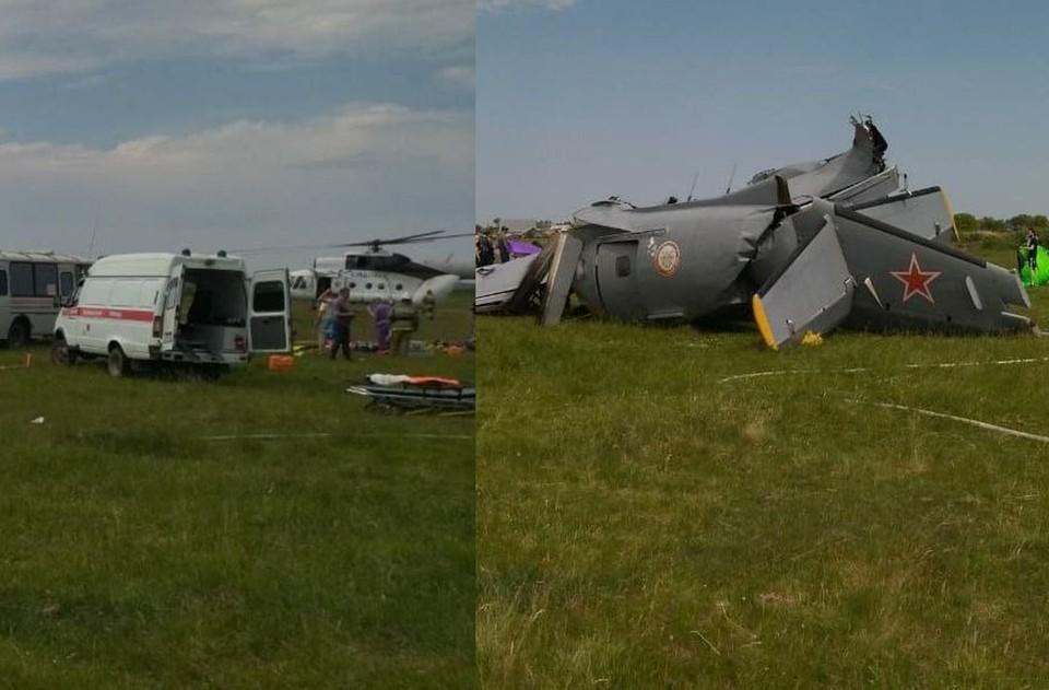 У самолета отказал двигатель. Фото: предоставлено очевидцами.
