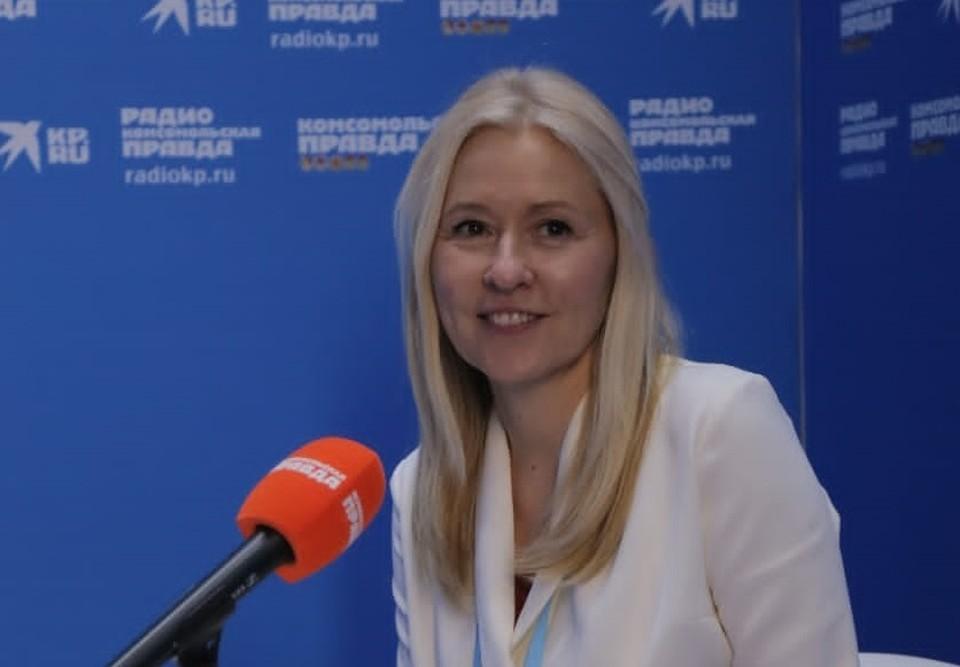 Надия Черкасова, заместитель президента-председателя правления банка «Открытие».