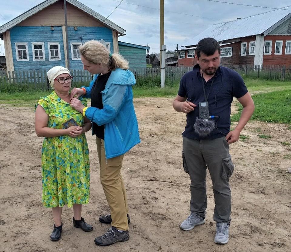 В Кривом снимают кино. Фото Марии Худяковой