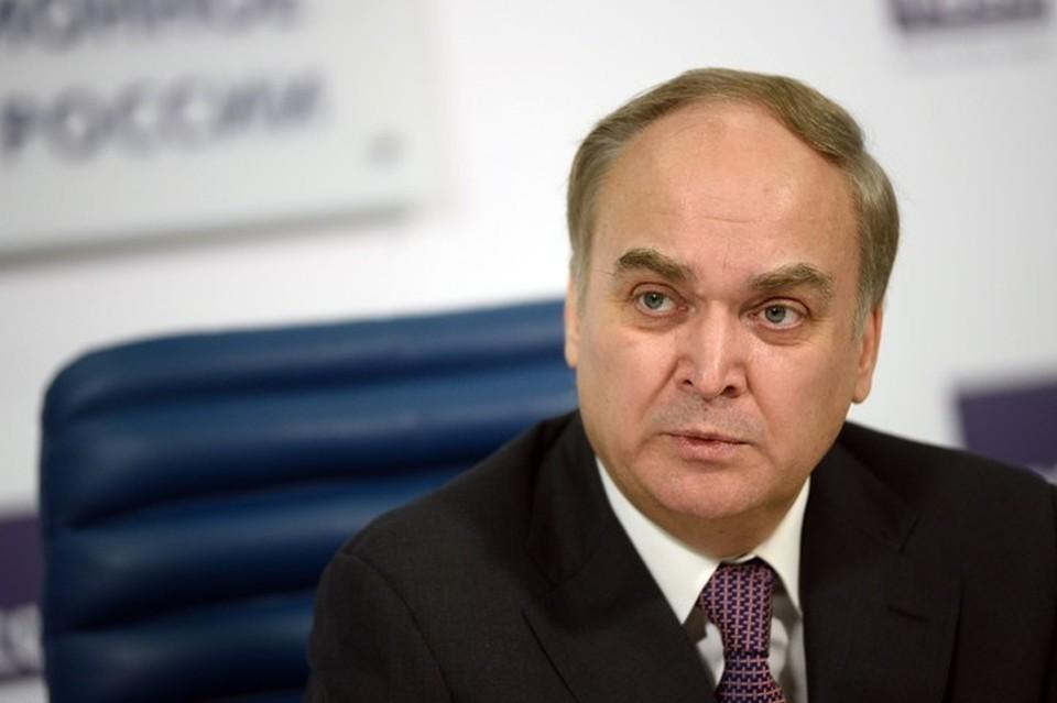 Российский посол в Вашингтоне Анатолий Антонов