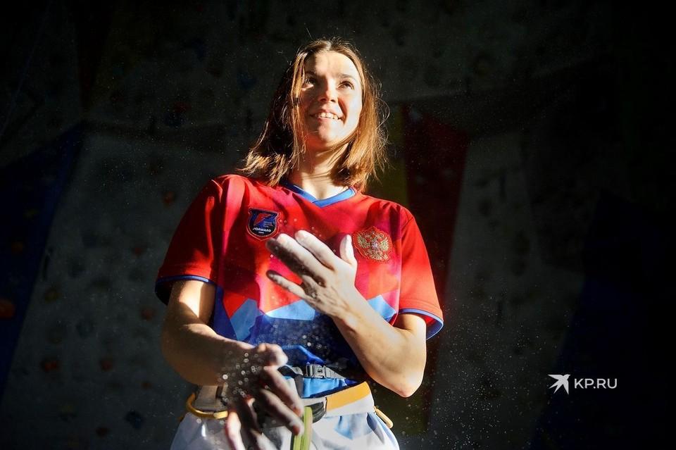В конце 2020 года Виктория завоевала сразу три золотых медали на чемпионате Европы по скалолазанию.