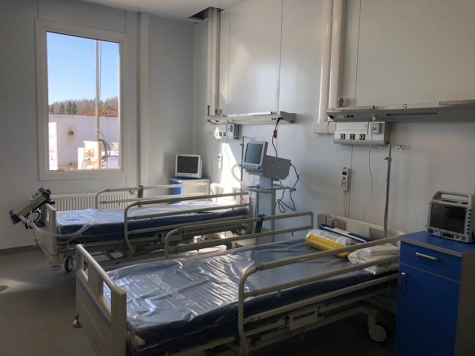 В Омске заняты более 90% ковидных мест в больницах.