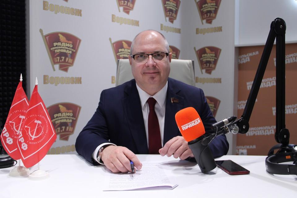 Депутат Госдумы от КПРФ Сергей Гаврилов
