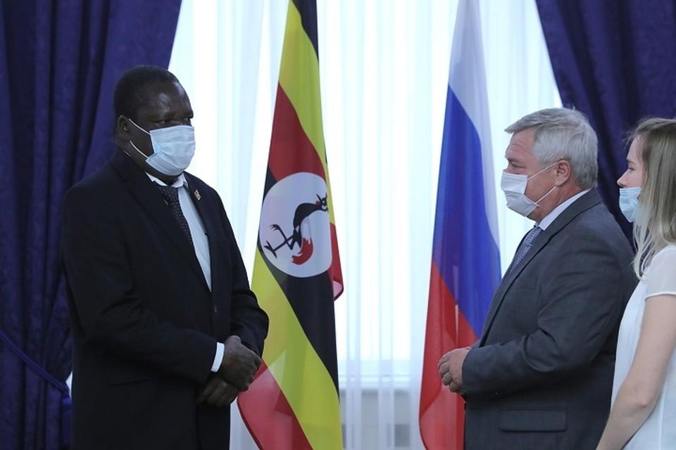 Внешнеторговый оборот с Угандой в этом году составил 1 млн 330 тысяч долларов США. Фото: сайт правительства РО