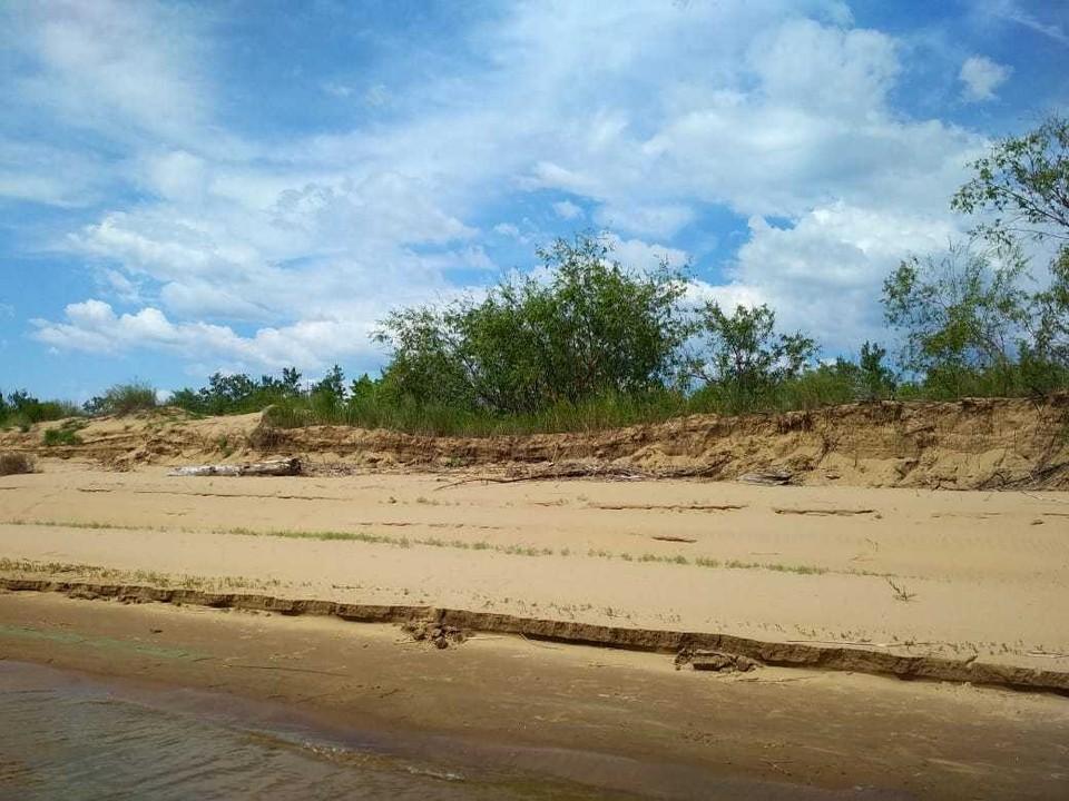 Труп был обнаружен на острове в Воскресенском районе